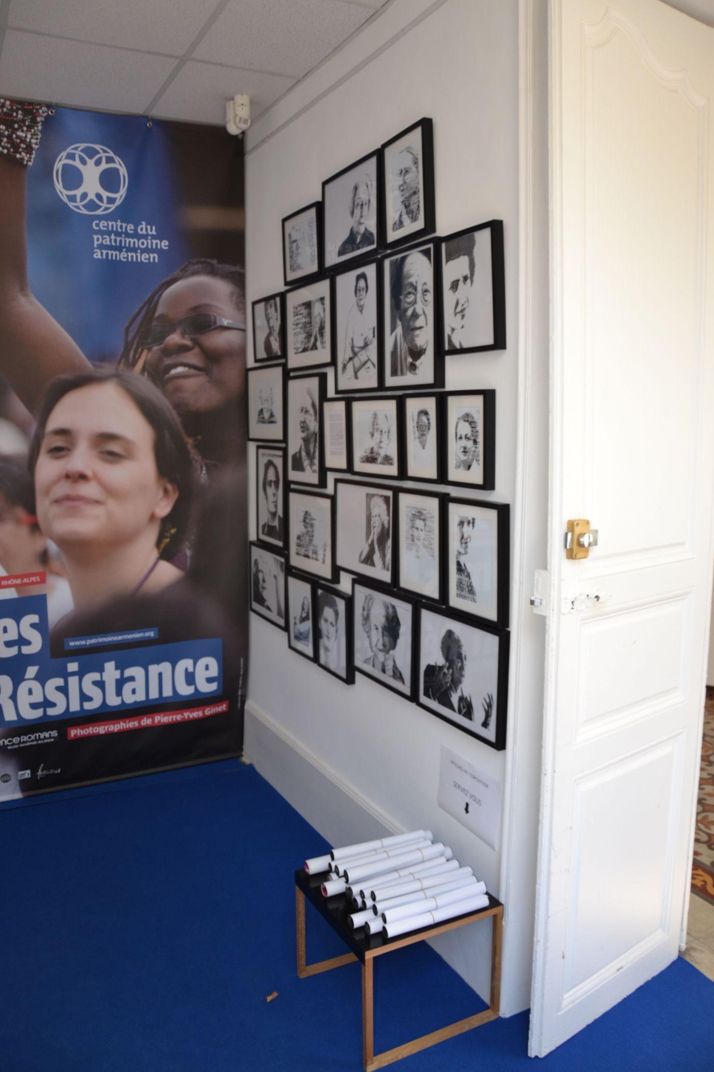 Femmes en Résistance - Lycée Victor-Hugo : Portraits typographiques